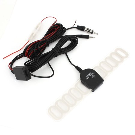 Auto Car TV Television Digital Antenna Aerial Booster FM Radio