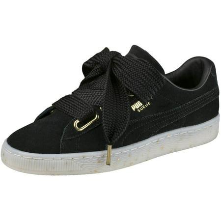 3a232b017f4 PUMA - Puma 365561-01  Women s Suede Heart Celebrate Sneaker (7 B(M) US) -  Walmart.com