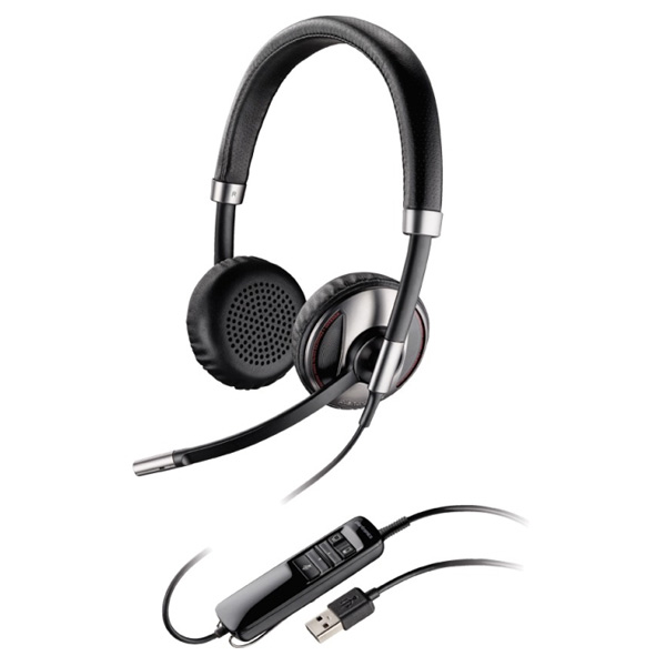Plantronics Blackwire C720 Over-the-Head Stereo Bluetooth-Enabled Corded USB Headset
