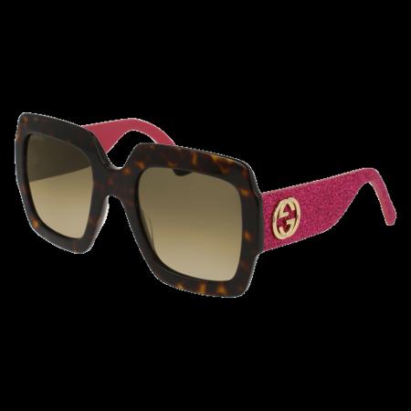Gucci GG0102S Sunglass 54mm (Pink Gucci Glasses)