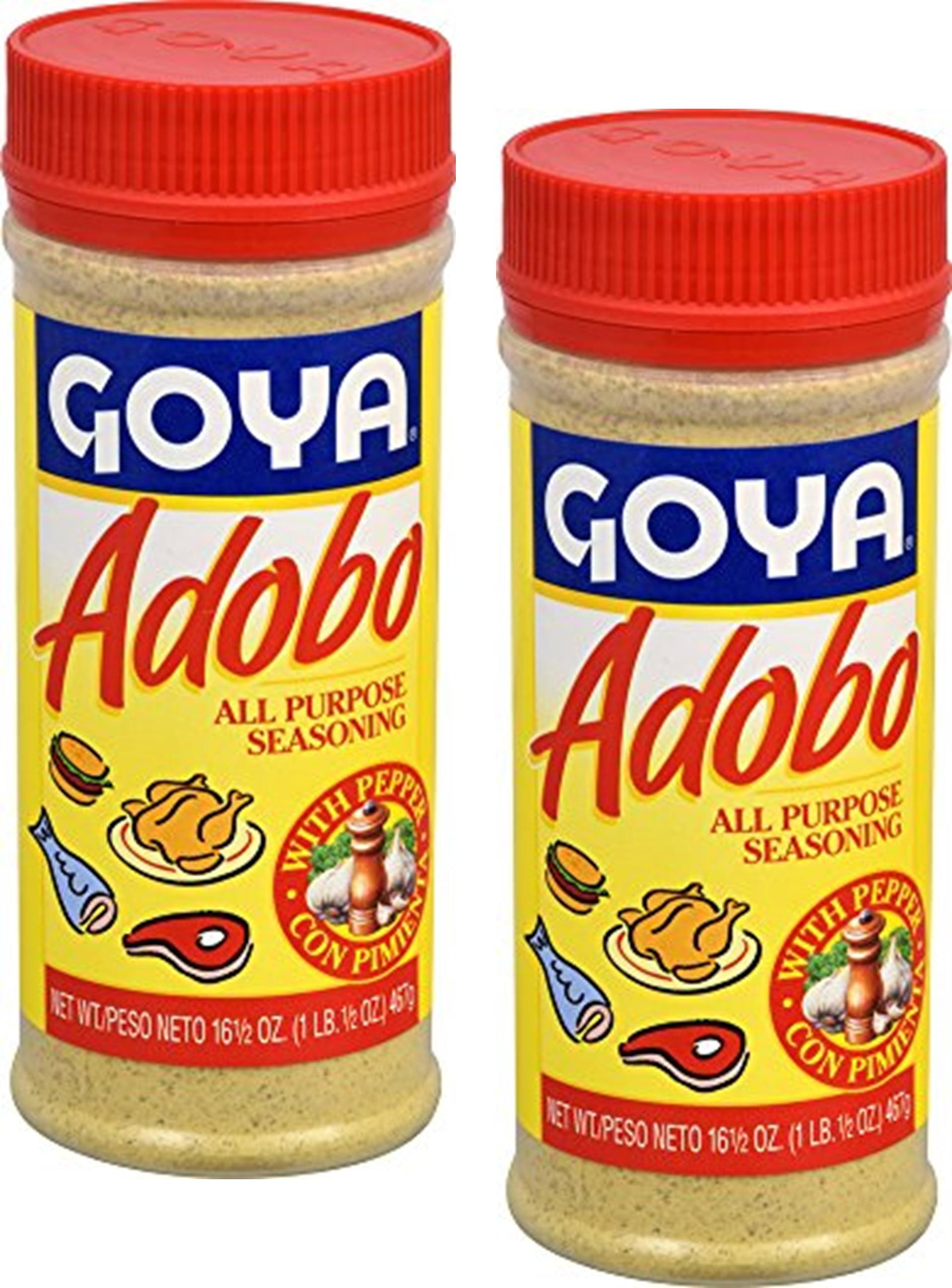 Goya Adobo All Purpose Seasoning With Pepper 16 5 Oz Pack Of 2 Walmart Com Walmart Com