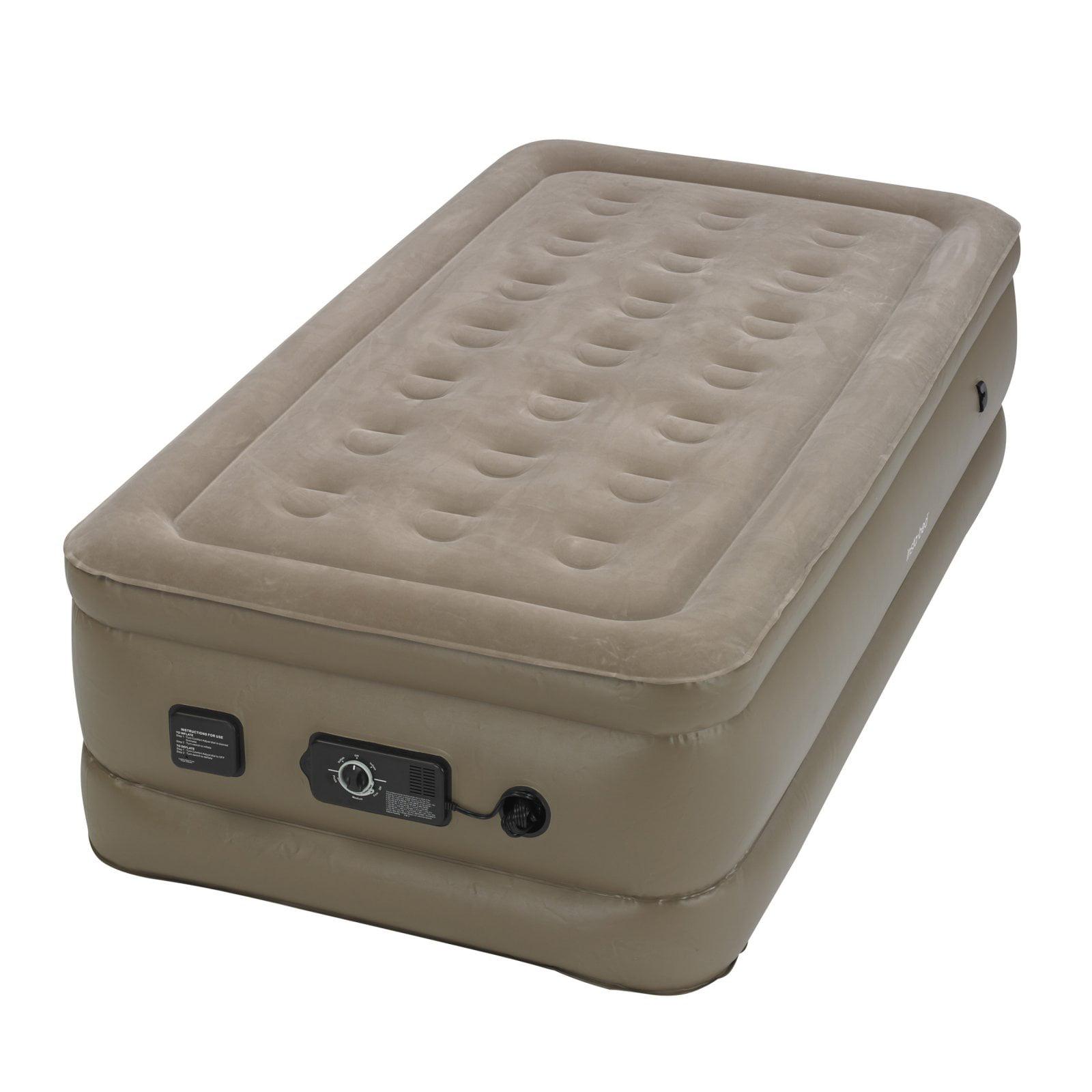 raised walmart intex pillow com mattress ip queen airbed rest air