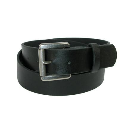 Men's Bridle Belt with Removable Roller Buckle (Removable Roller Buckle)