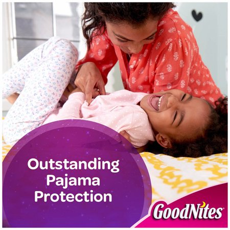 A Product of GoodNites Bedtime Bedwetting Underwear for Girls, Size S/M, 74 ct. (diapers - Wholesale Price [Skin Soft, Comfortable and Good Sleep Diapers](Babys Best