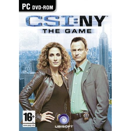 CSI New York (PC Game) Analyze the Evidence and Solve Crimes in the Big