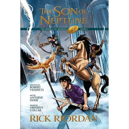The Heroes of Olympus, Book Two, The Son of Neptune: The Graphic Novel - Halloween Graphic Novel