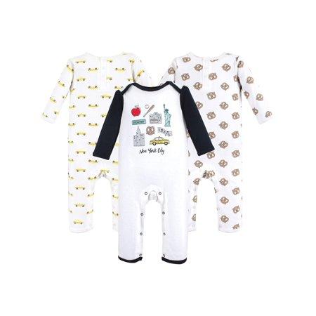 Union Suit / Coveralls 3pk (Baby Boys)