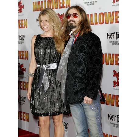 Sheri Moon Rob Zombie At Arrivals For Halloween Premiere GraumanS Chinese Theatre Los Angeles Ca August 23 2007 Photo By Adam OrchonEverett Collection Celebrity - Halloween Celebrity