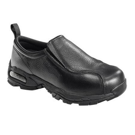 NAUTILUS Men's 1630 Steel Toe Slip-on Work Shoe, Wide
