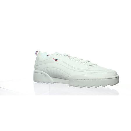 Reebok Mens Rivyx Ripple White Fashion Sneaker Size