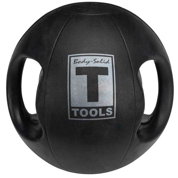 Body Solid Dual-Grip Medicine Ball 6 lb