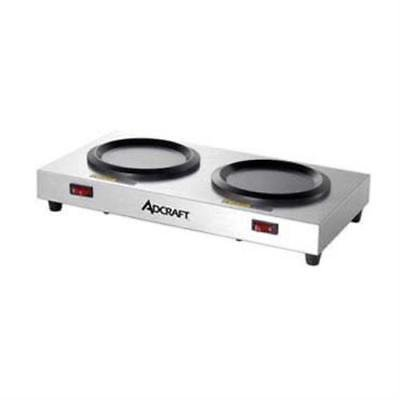 Adcraft Plates (Admiral Craft WP-2 Coffee Warmer Warmer Plate, double station)