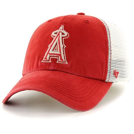 47 Brand Los Angeles Angels of Anaheim MLB Rockford Mesh Baseball Cap SIZE: ONE SIZE FITS MOST by