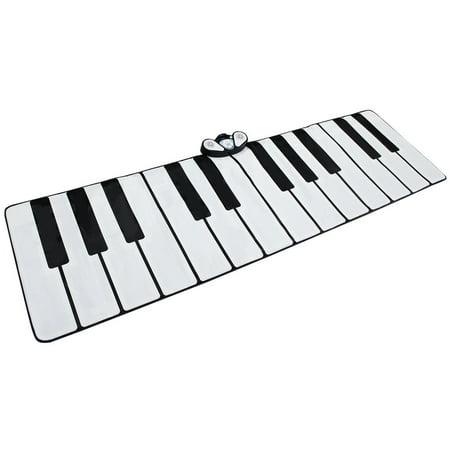 Gymax 24 Key Gigantic Piano Keyboard Dance Playmat w/ 9 Instrument Settings&MP3 Cable (Gigantic Keyboard Playmat)