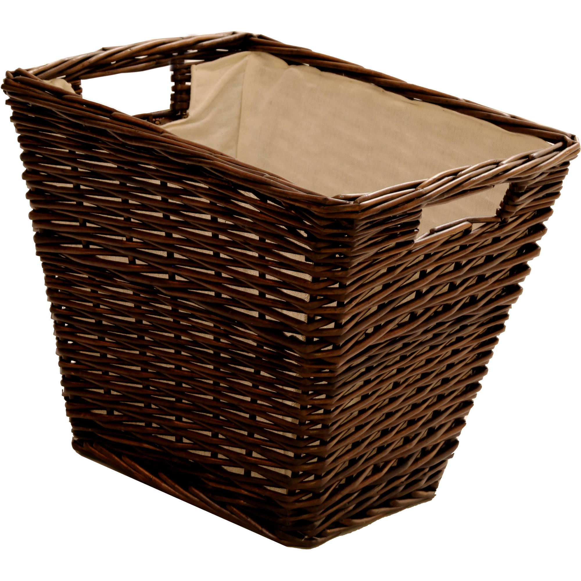 Beau Better Homes And Gardens Willow Cube Storage Basket   Walmart.com