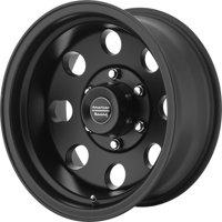 American Racing baja 17x9 5x139.7 -12et 108.00mm satin black wheel