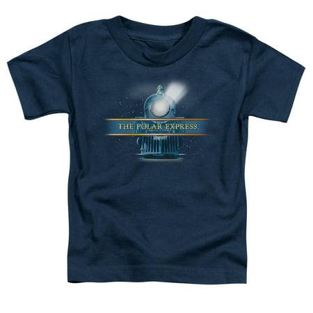 Polar Express - Train Logo - Toddler Short Sleeve Shirt - 3T