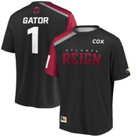 Gator Atlanta Reign Overwatch League Home Player Jersey - Steel