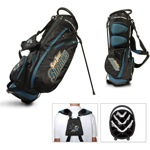 Team Golf NHL San Jose Sharks Fairway Golf Stand Bag