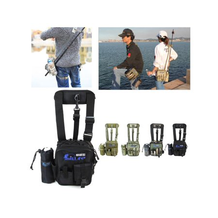 Waterproof Military Tactical Fishing Waist Bag Tackle Pouch Outdoor Camping Hiking Package Carrier Fishing -