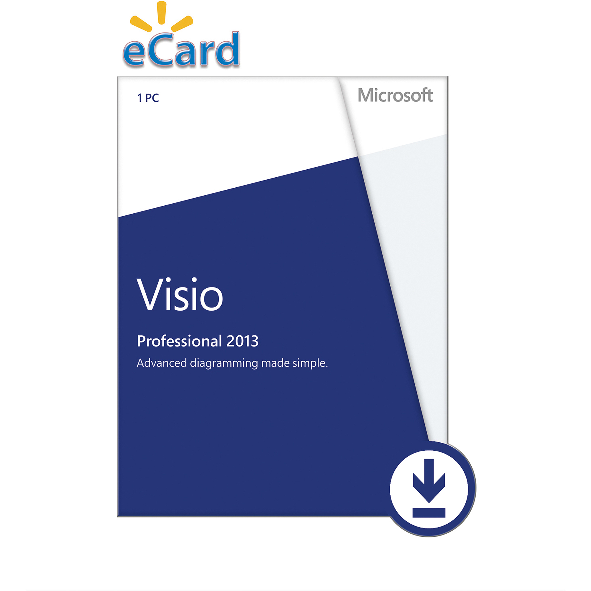Microsoft Visio Professional 2013 Spanish (Email Delivery) by Microsoft
