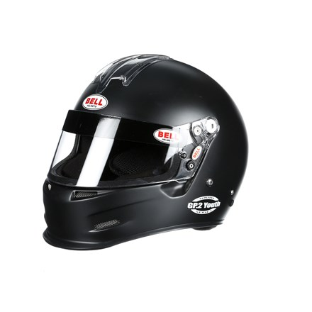 Bell Helmets 4X-Small Metallic Black Youth Series GP.2 He...