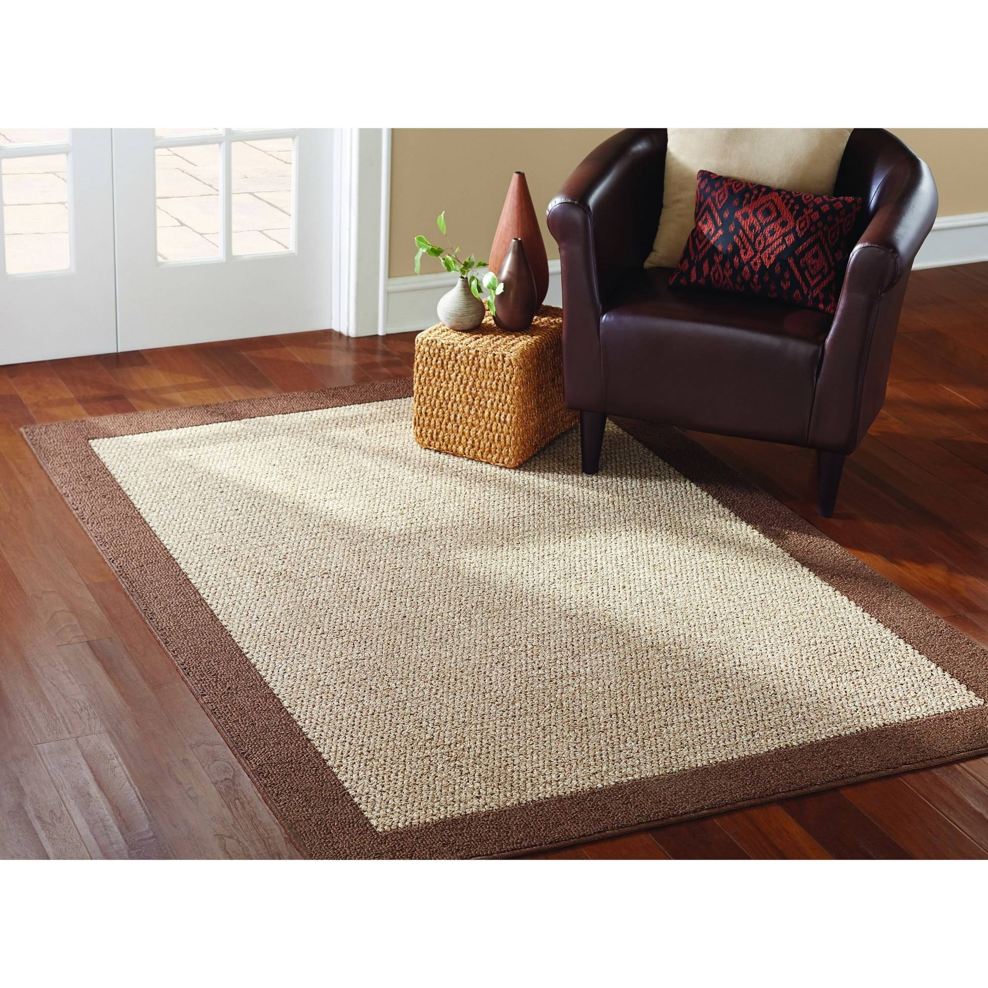 Great Mainstays Faux Sisal Area Rugs Or Runner   Walmart.com