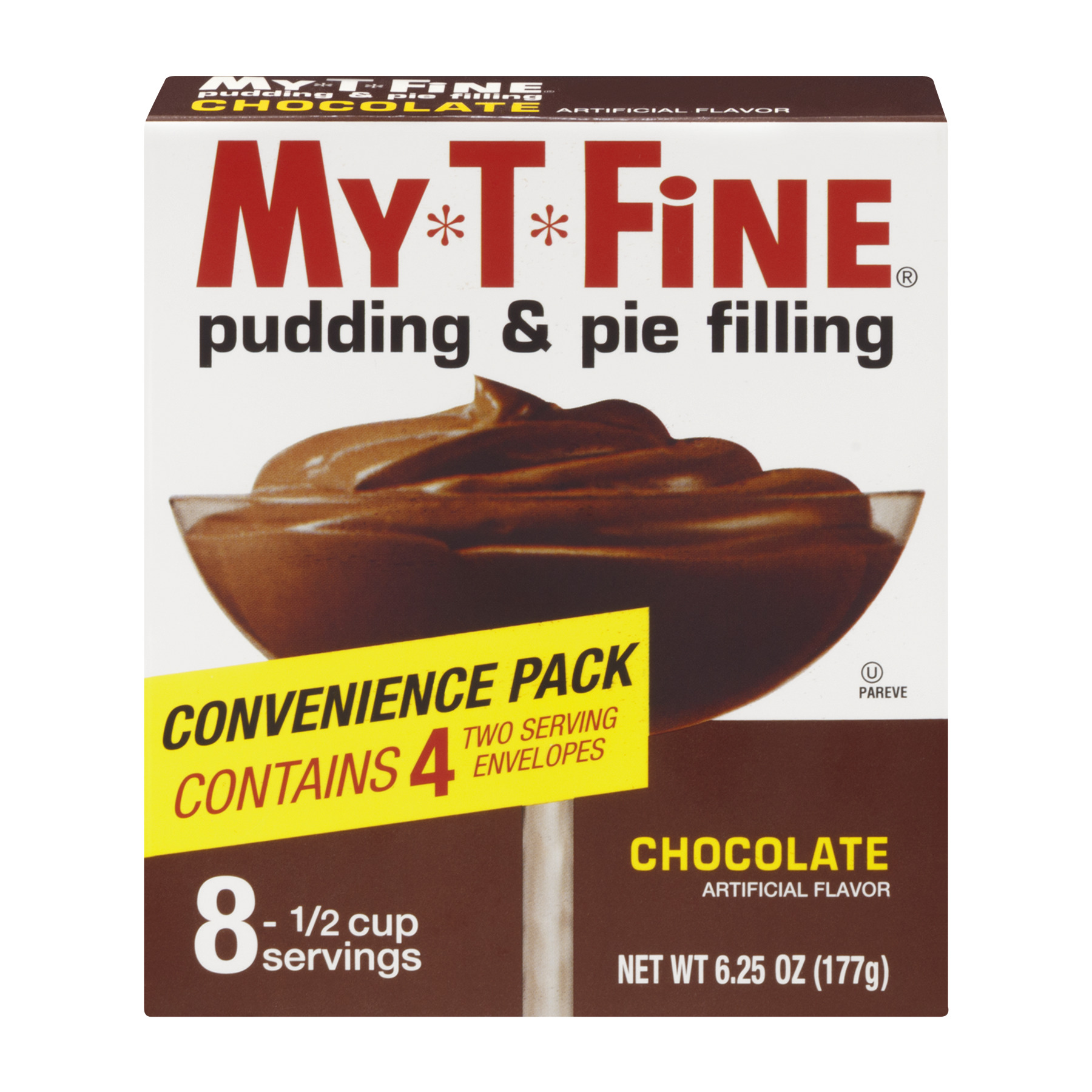 My-T-Fine Pudding & Pie Filling Chocolate, 6.25 OZ