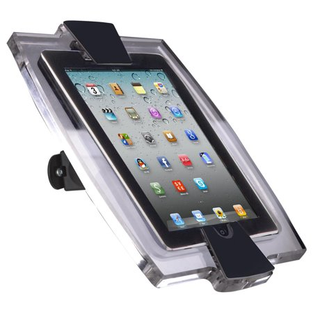 Mounting Button - iPad Mini Enclosure for Wall Mount Use, Tilting and Rotating Bracket, Adjustable Cover for