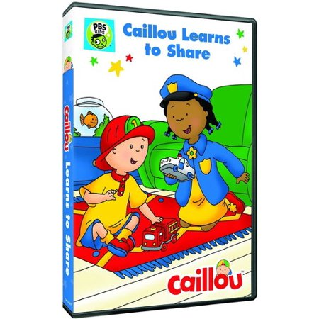 Caillou: Caillou Learns to Share (DVD) (Best Preschool Learning Dvds)