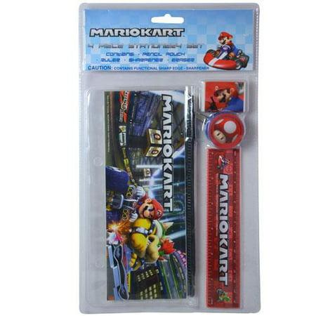 Super Mario 4pc Stationery Set in Bag w/Header](Wedding Stationery Sets)