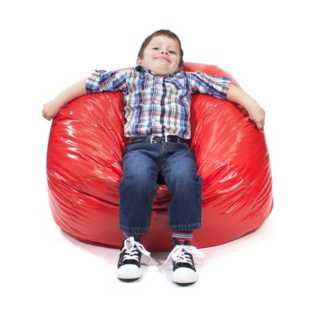 Swell Gold Medal Bean Bags 30010509804 Medium Wet Look Vinyl Beanbag Tween Size Blue Inzonedesignstudio Interior Chair Design Inzonedesignstudiocom