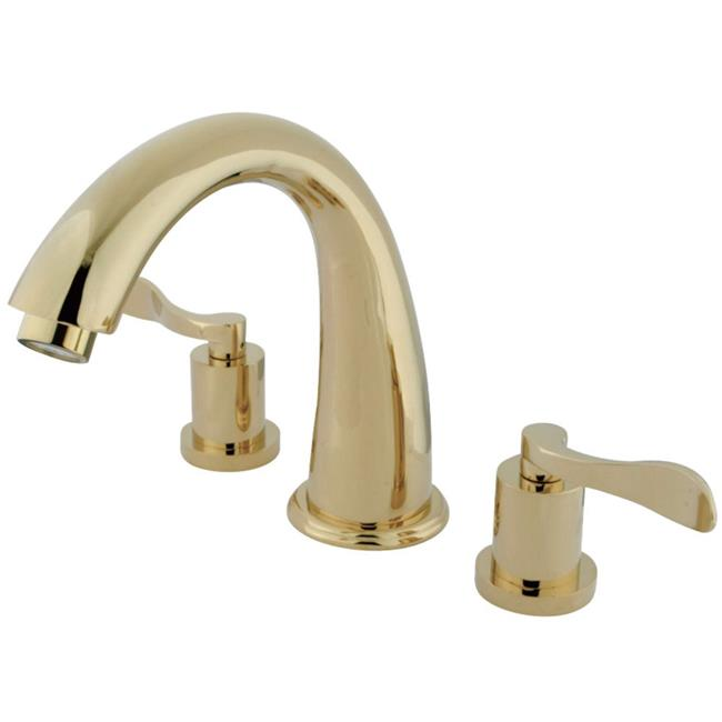Kingston Brass KS2362DFL NuWave Roman Tub Filler with Lev...