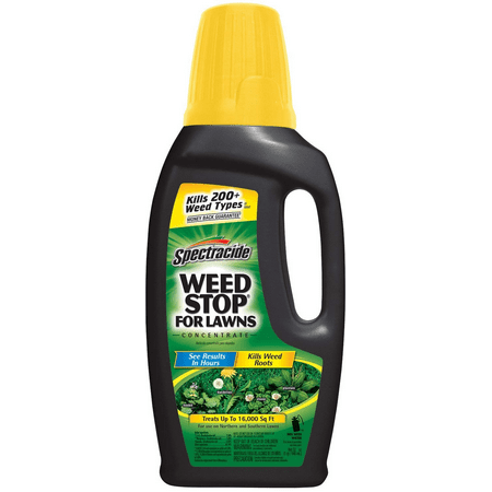 - Spectracide Weed Stop for Lawns Concentrate, 32-fl oz