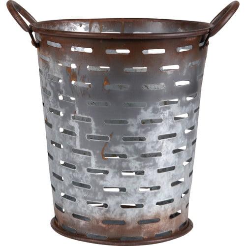 Wilco Home Metal Olive Basket
