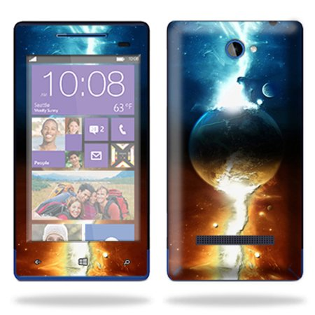 Skin Decal Wrap For Htc Windows Phone 8S Cell Phone Sticker Sci Fi