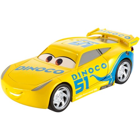 disney pixar cars 3 talking dinoco cruz ramirez vehicle. Black Bedroom Furniture Sets. Home Design Ideas