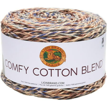 Lion Brand Comfy Cotton Blend Driftwood Yarn, 392 Yd.