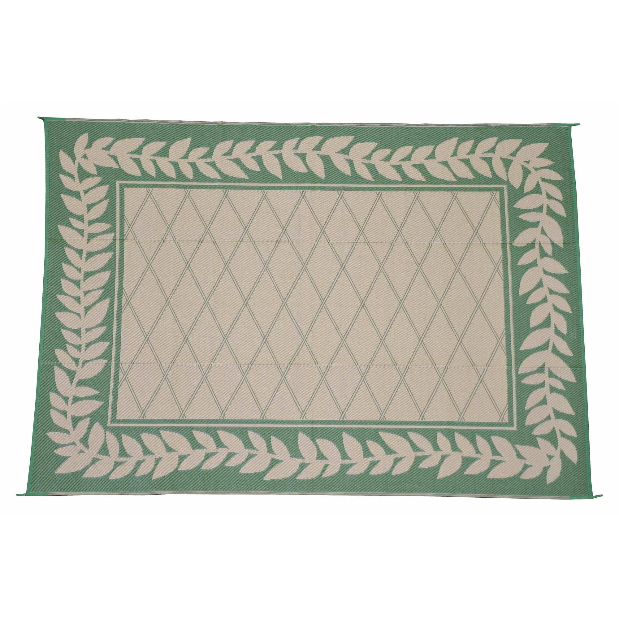 Patiomat Greek Key Patio Mat, 9x12