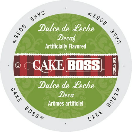Cake Boss Coffee Dulce De Leche Decaf, Single Serve Cup Portion Pack for Keurig K-Cup Brewers, 96 Count