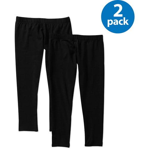 No Boundaries Juniors' Plus Capri Legging 2-Pack
