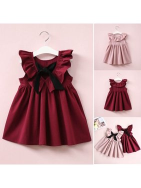 62e577fe1eb Product Image New Fashion Baby Toddler Kids Girls Sleeveless Dress Summer  Sundress Party Dresses 2-7Years