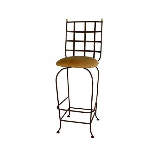 Grace Collection Westminster 24'' Swivel Bar Stool