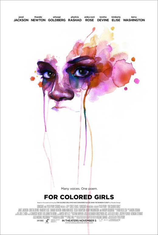 For Colored Girls (2010) 11x17 Movie Poster by Pop Culture Graphics