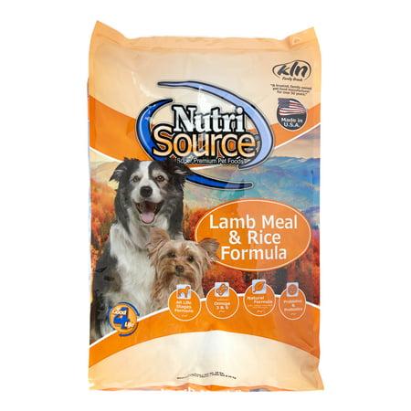 Dog Food Similar To Nutrisource