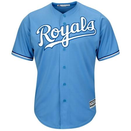 Kansas City Royals Majestic Official Cool Base Team Jersey - Light Blue ()