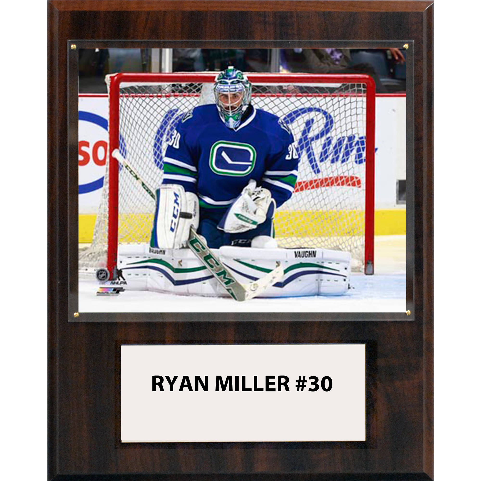 C&I Collectables NHL 12x15 Ryan Miller Vancouver Canucks Player Plaque