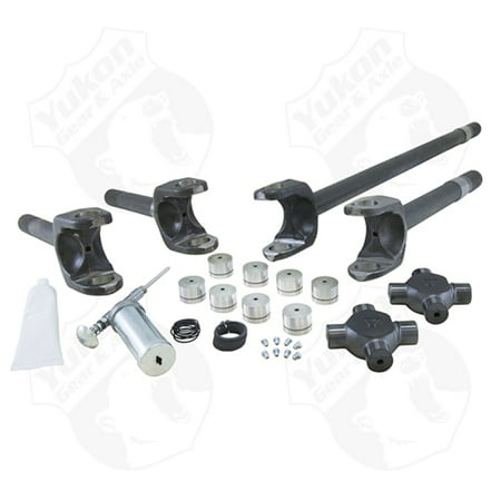 Yukon Gear Front 4340 Chrome-Moly Replacement Axle Kit For 77-91 GM / Dana 60 w/ 35 Splines
