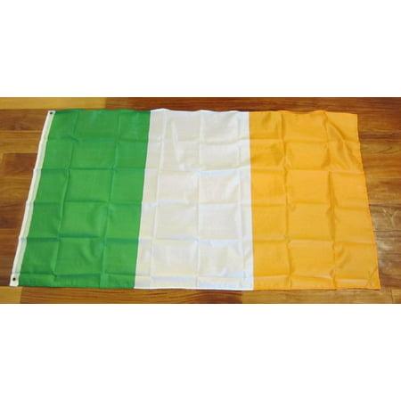 Flags Of Ireland (1 IRELAND FLAG 3X5 EIRE ERIN IRISH PRIDE BANNER REPUBLIC OF IRELAND 3 BY)