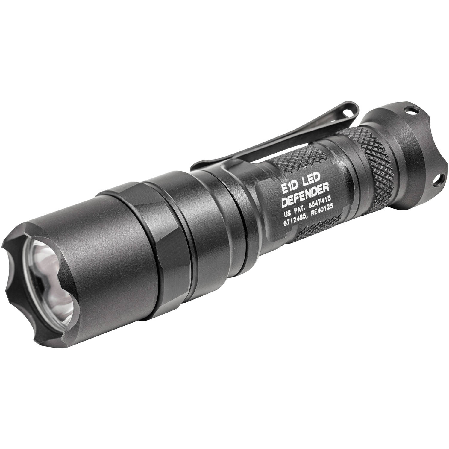 Surefire E1D LED Defender Flashlight, Dual-Output LED, 300/5 Lumens, Constant-On Click-Type Tailcap Switch, Black